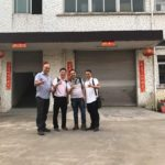 Brazil Customers visting zhenying factory