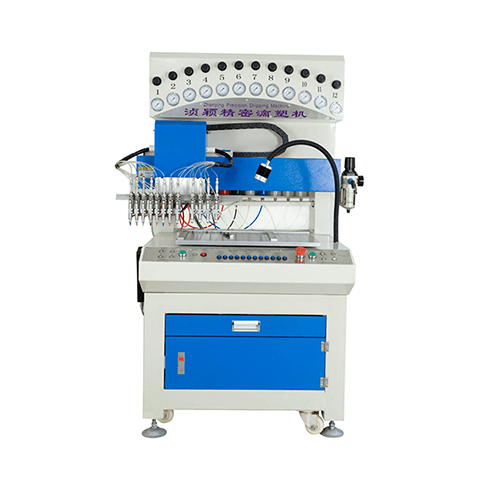 ZY-P08D automatic 12 colors dripping machine