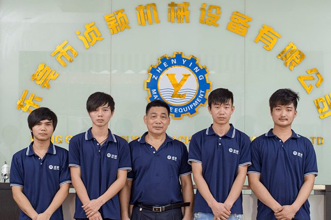 The Zhenying Machinery engineers team