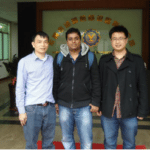 Customers visting zhenying factory