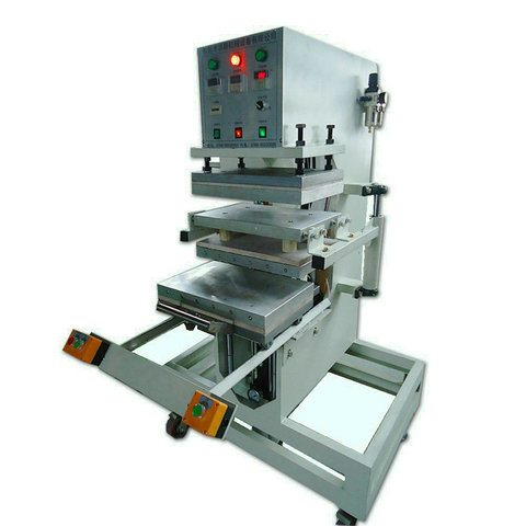 PVC rubber gloves patch making machine