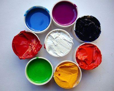 краски на органических растворителях