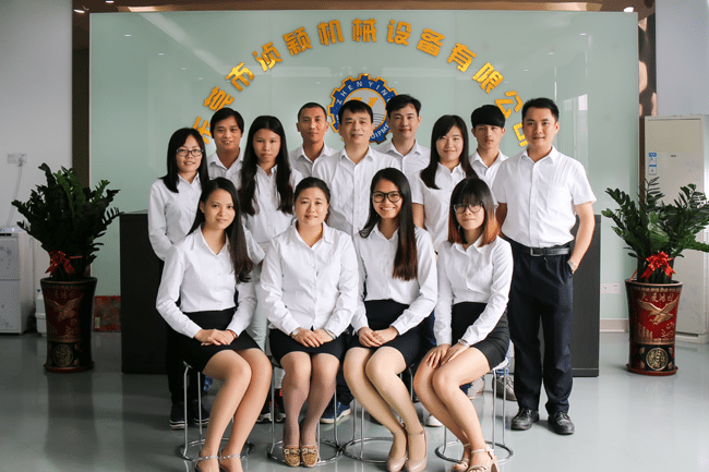 Meet the Zhenying Machinery sales Team